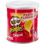 Box mit Pringles Original 40 g