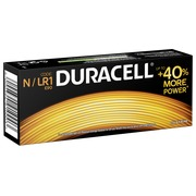 Blister 2 alkaline batterijen Duracell LR1/E90