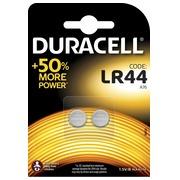 Blister 2 batteries alcaline Duracell LR44