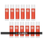 Pack of 6 glue sticks Bruneau 10 g + 6 for free