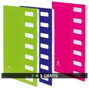 Pack 2 Sortiermappen in Karton Extendos 7 Verteilungen + 1 gratis