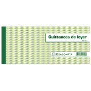 Booklet discharge of rent 50 sheets Exacompta