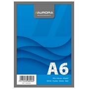 Bloc notes Aurora A6 105 x 148 mm 5 x 5 100 feuilles