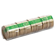 Kit 400 cases for euro coins