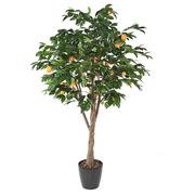 Kunstplant voor binnen sinaasappelboom 250 cm