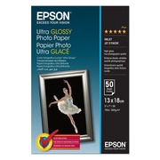 Epson Ultra Glossy Photo Paper - Fotopapier - 50 Blatt - 130 x 180 mm