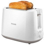 Philips Daily Collection HD2581 - Toaster - weiß