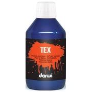 Darwi peinture textile Tex, 250 ml, outremer