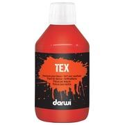 Darwi peinture textile Tex, 250 ml, vermilion
