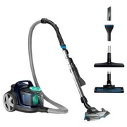Philips PowerPro Active FC9556 - vacuum cleaner - canister - louros blue