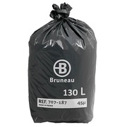 Sac poubelle 130 litres Bruneau - 200 sacs