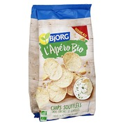 Chips peas and lentils Bio Bjorg - bag of 80 g