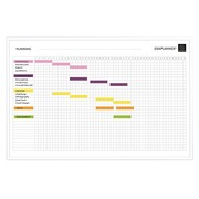 Magnetic project planner 59 x 90 cm Exacompta