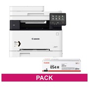 Multifunctionele laserprinter Canon I Sensys MF643CDW + zwarte toner 054H