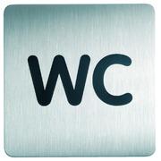 Pictogramme Durable 4957 WC carré 150mm