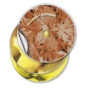 Etiquette CD Avery L6043-25 blanc 50 pièces