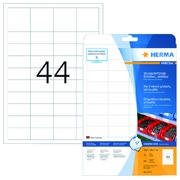 Etiket Herma 4572 48.3x25.4mm 880stuks wit