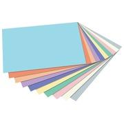 Folia papier à dessin coloré pastel, paquet de 100 feuilles