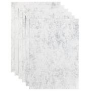 Papier copieur Papicolor A4 6 feuilles gris marbré