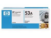 Toner laser zwart HP 53A - HP Q7553A