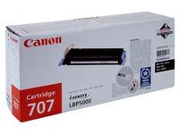 Toner Canon 707BK zwart