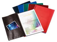 Non-transparent document protectors Le Lutin classic Elba assortment 50 sleeves