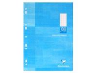 Case 100 loose sheets Clairefontaine Metric size A4 21 x 29.7 cm large squares