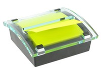 Millennium Post-it Z-notes dispenser 76 x 76 mm with yellow block
