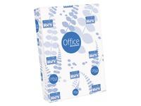 Papier A4 weiß 80 g perforiert 4 Löcher Rey Office - Riemen von 500 Blatt
