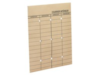 Sleeve for interior mail La Couronne 260 x 330 mm 120 g kraft without window - Box of 250