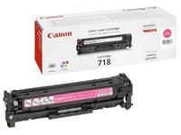 Toner canon 718 afzonderlijke kleuren