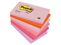 Replacable Post-it notes in colors 76 x 127 mm