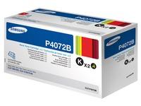 Pack von 2 Tonerkartuschen Samsung P4072B Schwarz