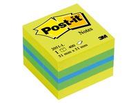 Post-it mini cube, lemon