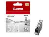 Cartouche Canon CLI521G grise pour imprimante jet d'encre