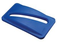 Blauer Deckel für Papier und Zeitschriften Slim Jim