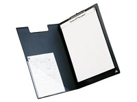 Clipboard with fold, A4, PVC