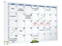 Magnetische maandplanner 7 kolommen Nobo