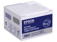 Toner Epson S050651 zwart