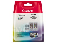 Set 2 cartridges Canon PG40+CL41
