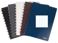 Notebook Atoma A5 72 sheets checked 5x5