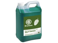 Bottle of 5 L Bruneau multipurposes cleaning product pine