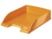 Mail basket Leitz Wow orange metalized