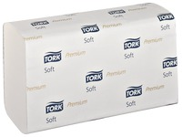 Box of 2310 towels Tork Premium Soft maxi 21 x 34 cm