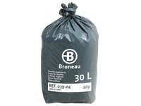 Cardboard - 200 plastic bags, superior quality, 30 litres, 50 microns