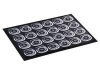 Doormat deco 60 x 90 cm - anthracite