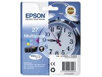 Pack van 3 cartridges Epson 27 kleur