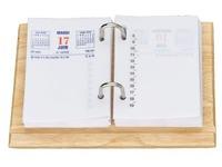 Houder scheurkalender - hout