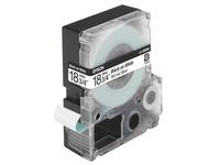 Lint Epson 18 mm LC 5WBN9 wit met zwarte tekst