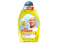 Bottle of 600 ml Mr Proper concentrated liquid gel lemon